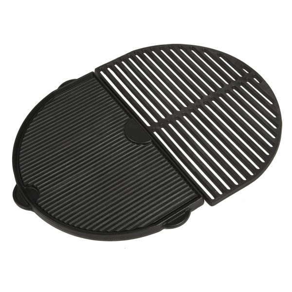 Primo Half Moon Griddle for Primo Oval XL Kamado Grill image number 2