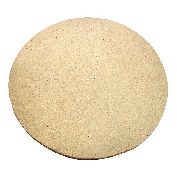 """Primo Natural Ceramic Pizza Stone - 13"""" Diameter image number 0"""
