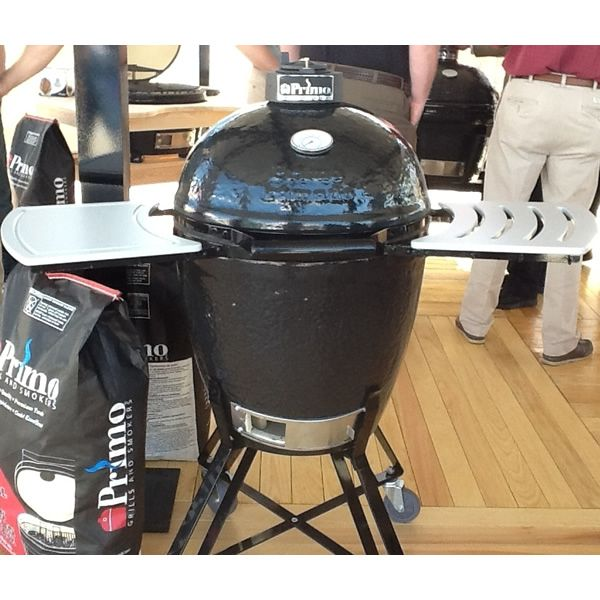 Primo Round All-In-One Kamado Grill & Smoker image number 2