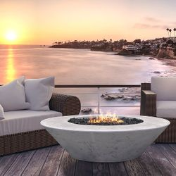 Prism Hardscapes Embarcadero 60 Gas Fire Table