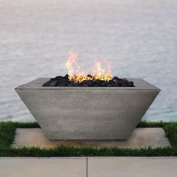 Prism Hardscapes Lombard Gas Fire Table