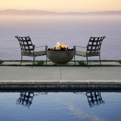 Prism Hardscapes Moderno I Gas Fire Bowl