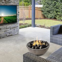 Prism Hardscapes Moderno II Gas Fire Bowl