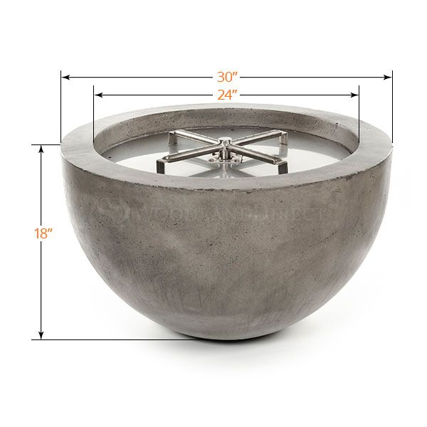 Prism Hardscapes Moderno III Gas Fire Bowl image number 1