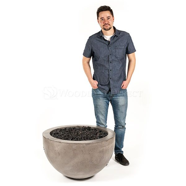 Prism Hardscapes Moderno III Gas Fire Bowl image number 9