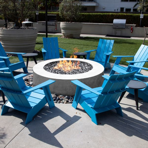 Prism Hardscapes Rotondo 80 Gas Fire Table image number 0