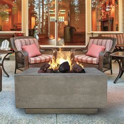 Prism Hardscapes Tavola III Gas Fire Table