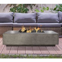Prism Hardscapes Tavola IV Gas Fire Table