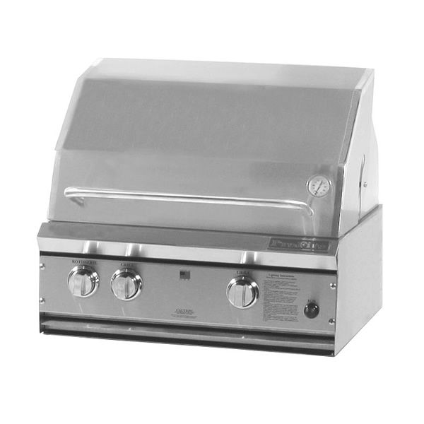 "ProFire Built-In Hybrid Gas Grill - 27"" image number 0"