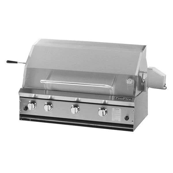 """ProFire Built-In Hybrid Gas Grill - 36"""" image number 0"""