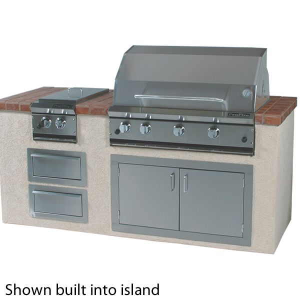 """ProFire Built-In Hybrid Gas Grill - 36"""" image number 1"""