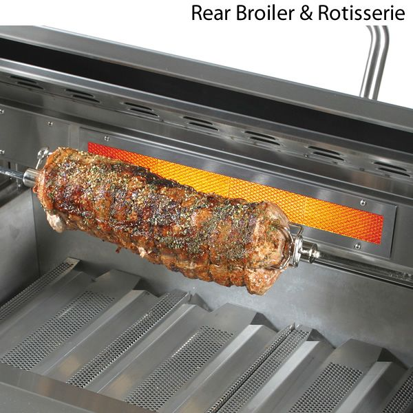 "ProFire Built-In Hybrid Double Burner Gas Grill - 48"" image number 3"