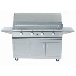 ProFire Cart-Mount Hybrid Gas Grill - 48""