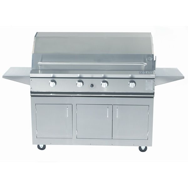 "ProFire Cart-Mount Hybrid Gas Grill - 48"" image number 0"