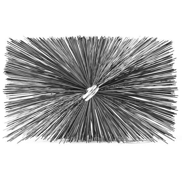 A.W. Perkins Professional Series Rectangular Chimney Brush image number 0