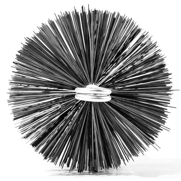 A.W. Perkins Professional Series Round Chimney Brush image number 0
