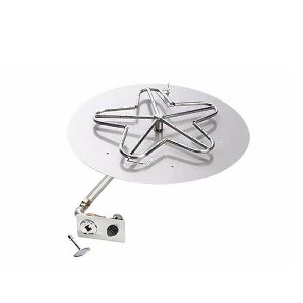 """Push Button Flat Round Pan Insert Kit - 18"""" image number 0"""