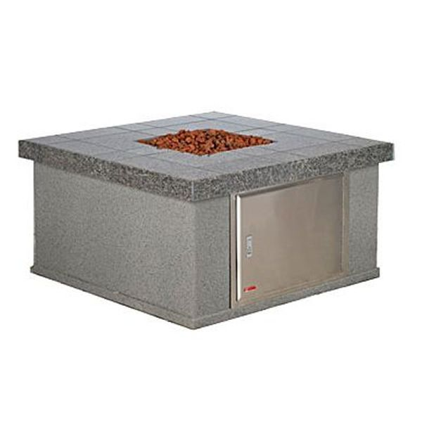 Quadrato Gas Outdoor Fire Pit Table image number 0
