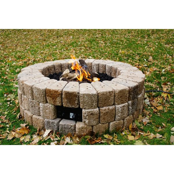 """Round DIY Gas Fire Pit Kit - 38"""" image number 0"""