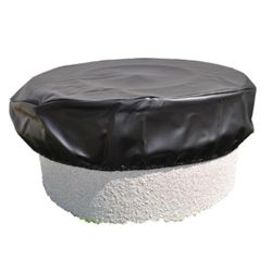 """Round Fire Pit Cover - 64"""""""