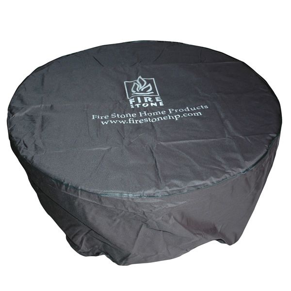 "Round Vinyl Fire Pit Cover - 23"" image number 0"