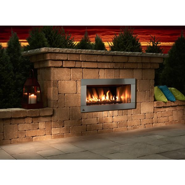 Rockwood Contemporary Outdoor Gas Fireplace image number 1