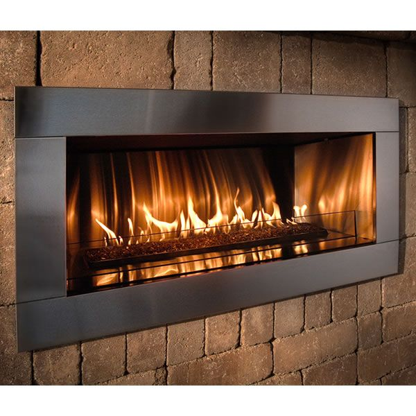 Rockwood Contemporary Outdoor Gas Fireplace image number 2