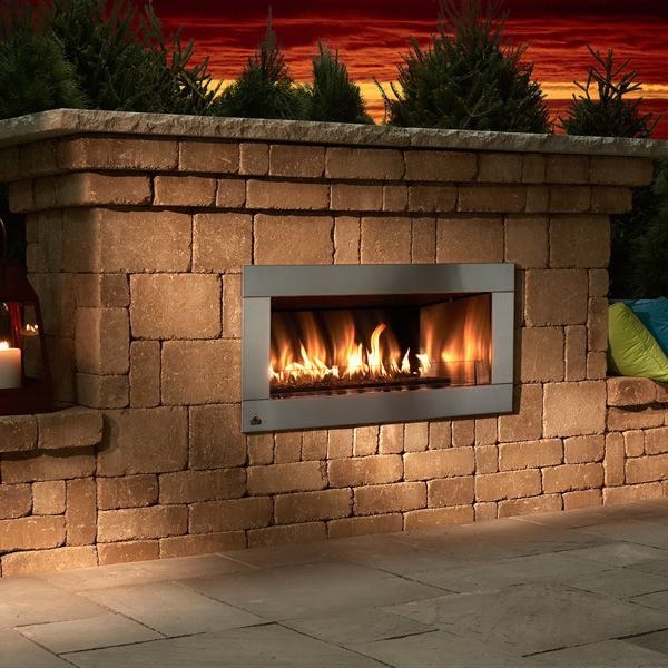 Rockwood Contemporary Outdoor Gas Fireplace image number 0