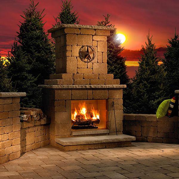 Rockwood Victorian Outdoor Fireplace image number 0