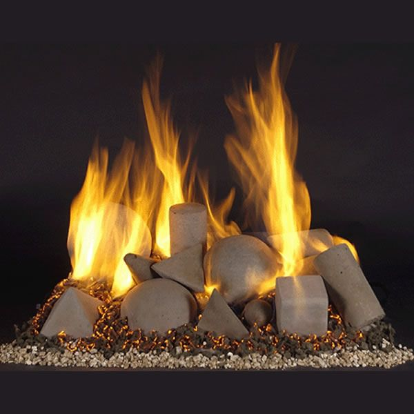 Rasmussen Alterna Vented Fireplace Shape Set image number 0