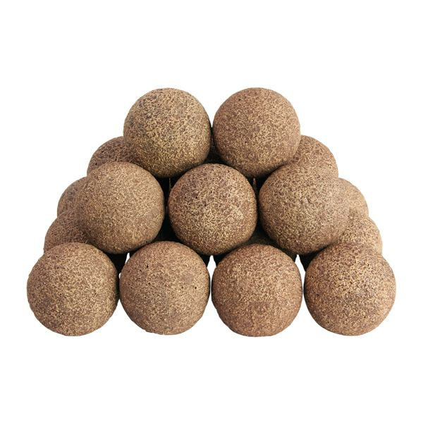 Rasmussen Alterna Vented Rustic Fireplace Ball Set image number 0