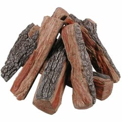 Rasmussen Bark-Split Fire Pit Gas Logs