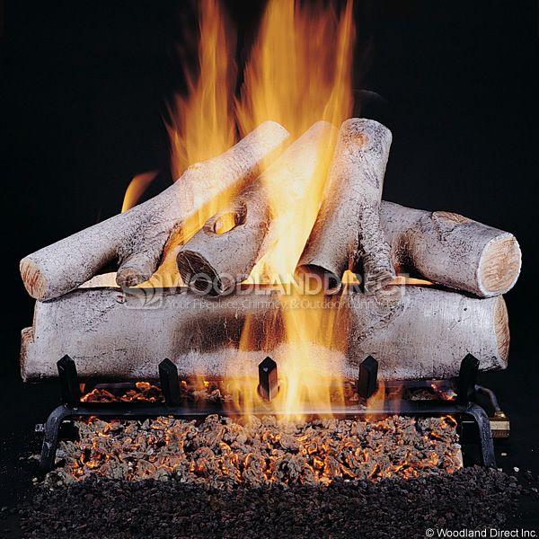Rasmussen Birch See-Through Vented Gas Log Set image number 0