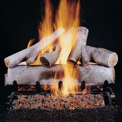 Rasmussen Birch Vented Gas Log Set