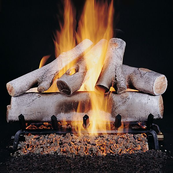 Rasmussen Birch Vented Gas Log Set image number 0