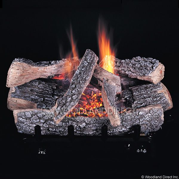 Rasmussen Chillbuster C5 Evening Embers Ventless Gas Log Set image number 0