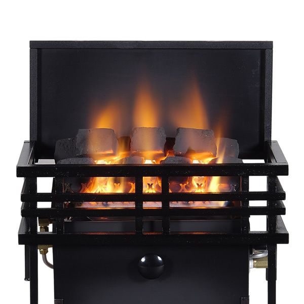 Rasmussen Chillbuster CoalFire Americana Ventless Gas Fireplace Heater image number 0