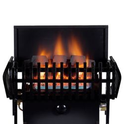 Rasmussen Chillbuster CoalFire Classic Ventless Gas Fireplace Heater