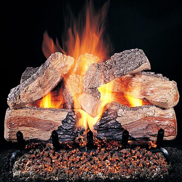 Rasmussen Evening Desire See-Through Vented Gas Log Set image number 0