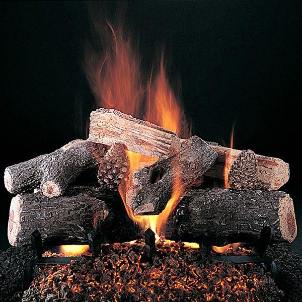 Rasmussen Evening Lone Star See-Through Vented Gas Log Set image number 0