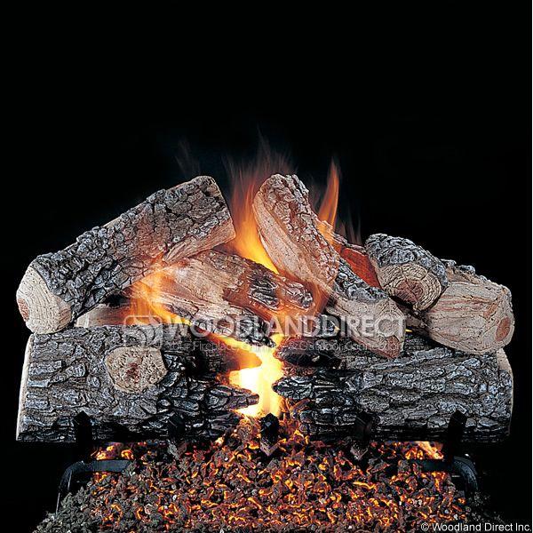 Rasmussen Evening Prestige See-Through Vented Gas Log Set image number 0