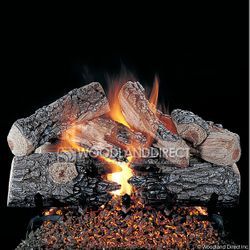 Rasmussen Evening Prestige See-Through Vented Gas Log Set