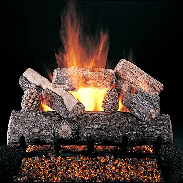 Rasmussen Lone Star Vented Gas Log Set image number 0