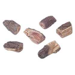 Refractory Ceramic Wood Chip Accent Kit - 6 pcs.
