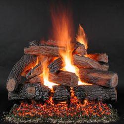 Rasmussen TimberFire Vented Gas Log Set - Valve Vanisher