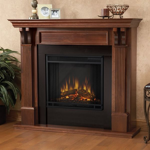 Real Flame Ashley Electric Fireplace - Mahogany image number 0