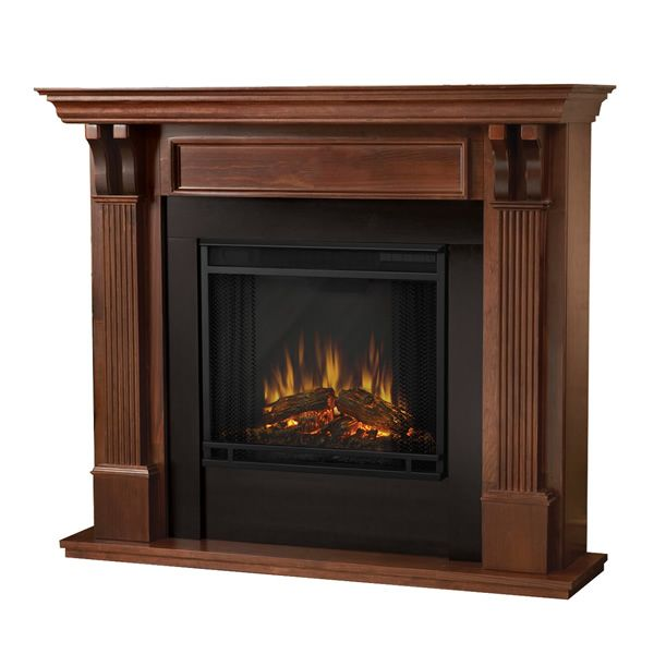 Real Flame Ashley Electric Fireplace - Mahogany image number 1