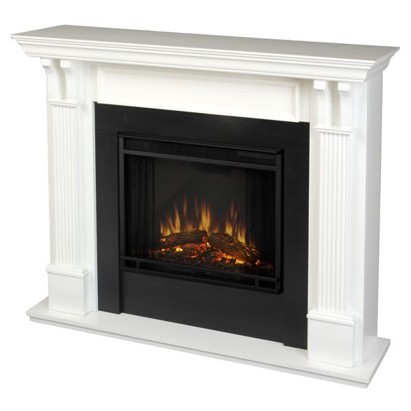 Real Flame Ashley Electric Fireplace - White image number 0