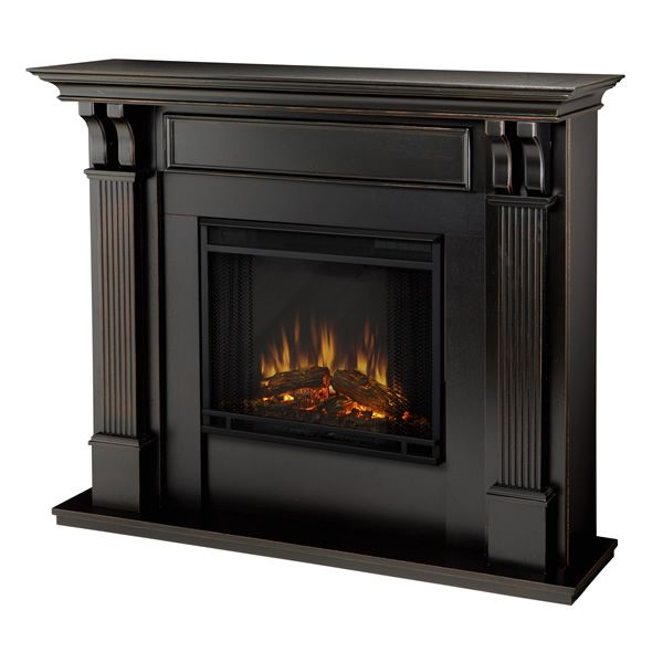 Real Flame Ashley Wash Electric Fireplace - Black image number 1