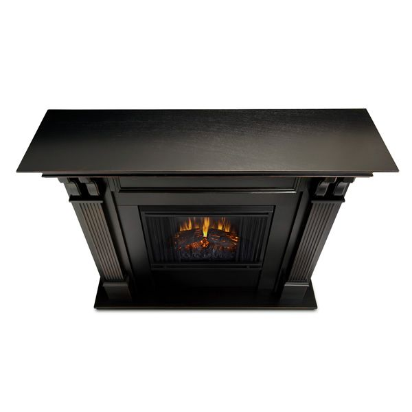 Real Flame Ashley Wash Electric Fireplace - Black image number 2